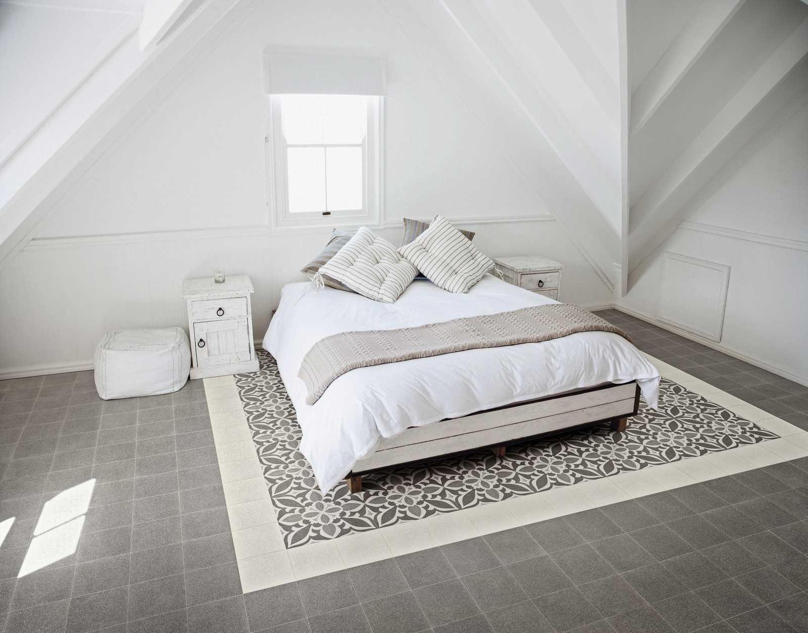 Piastrelle camera da letto: ceramica per la zona notte ragno