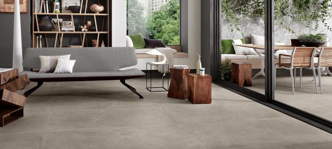 collezione boom gres effetto cemento ragno. Black Bedroom Furniture Sets. Home Design Ideas