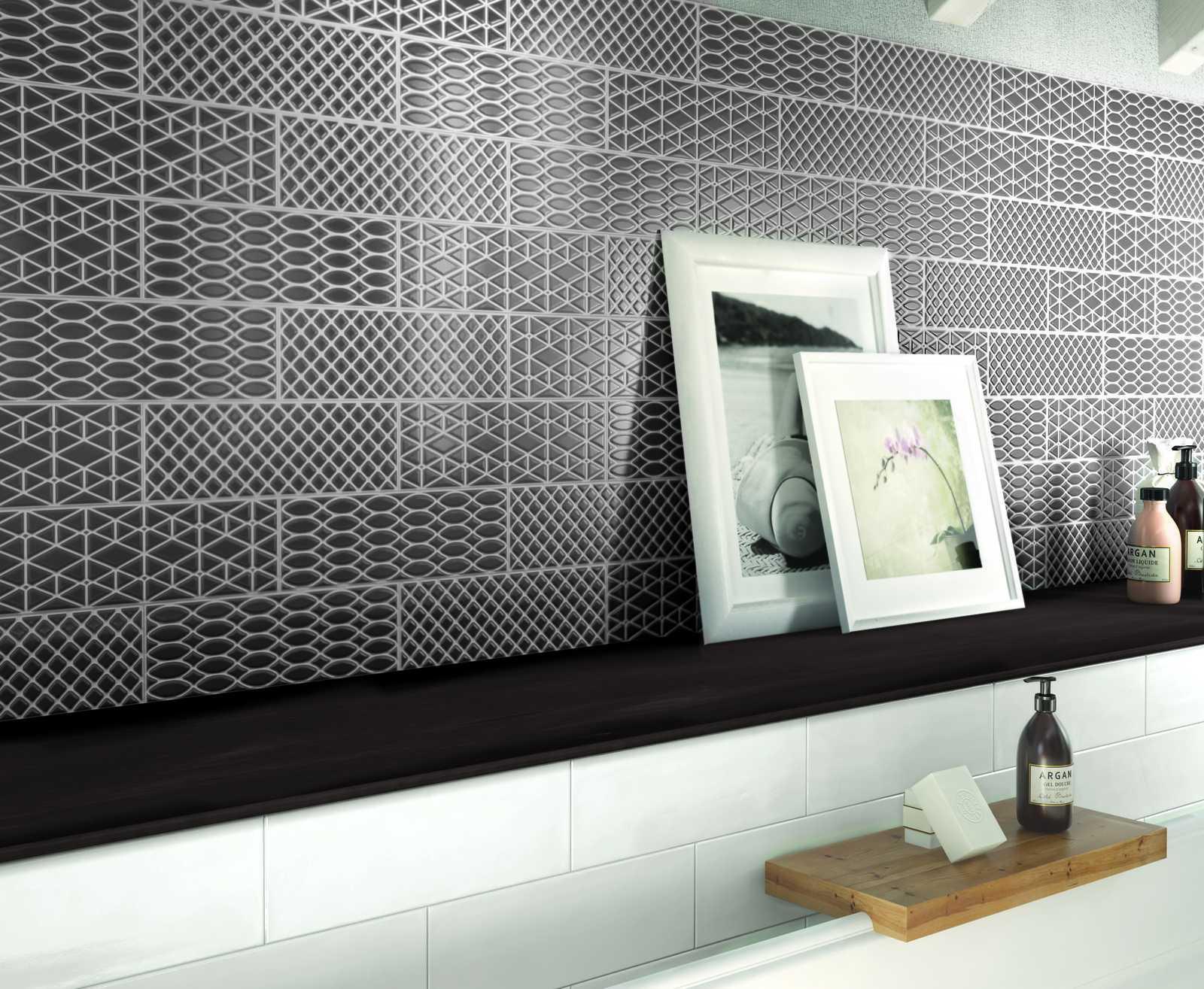 Collezione brick glossy rivestimenti per cucina e bagno ragno