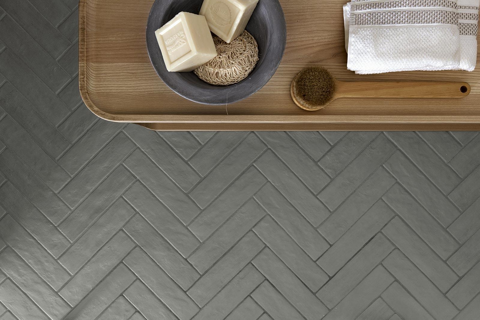Piastrelle effetto cotto e cemento per interni ed esterni - Piastrelle effetto mattone ...