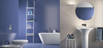 Piastrelle per bagno colore blu ragno - Colore piastrelle bagno ...
