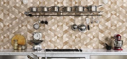 Gres Porcellanato Effetto Cotto e Cemento per Cucina | Ragno