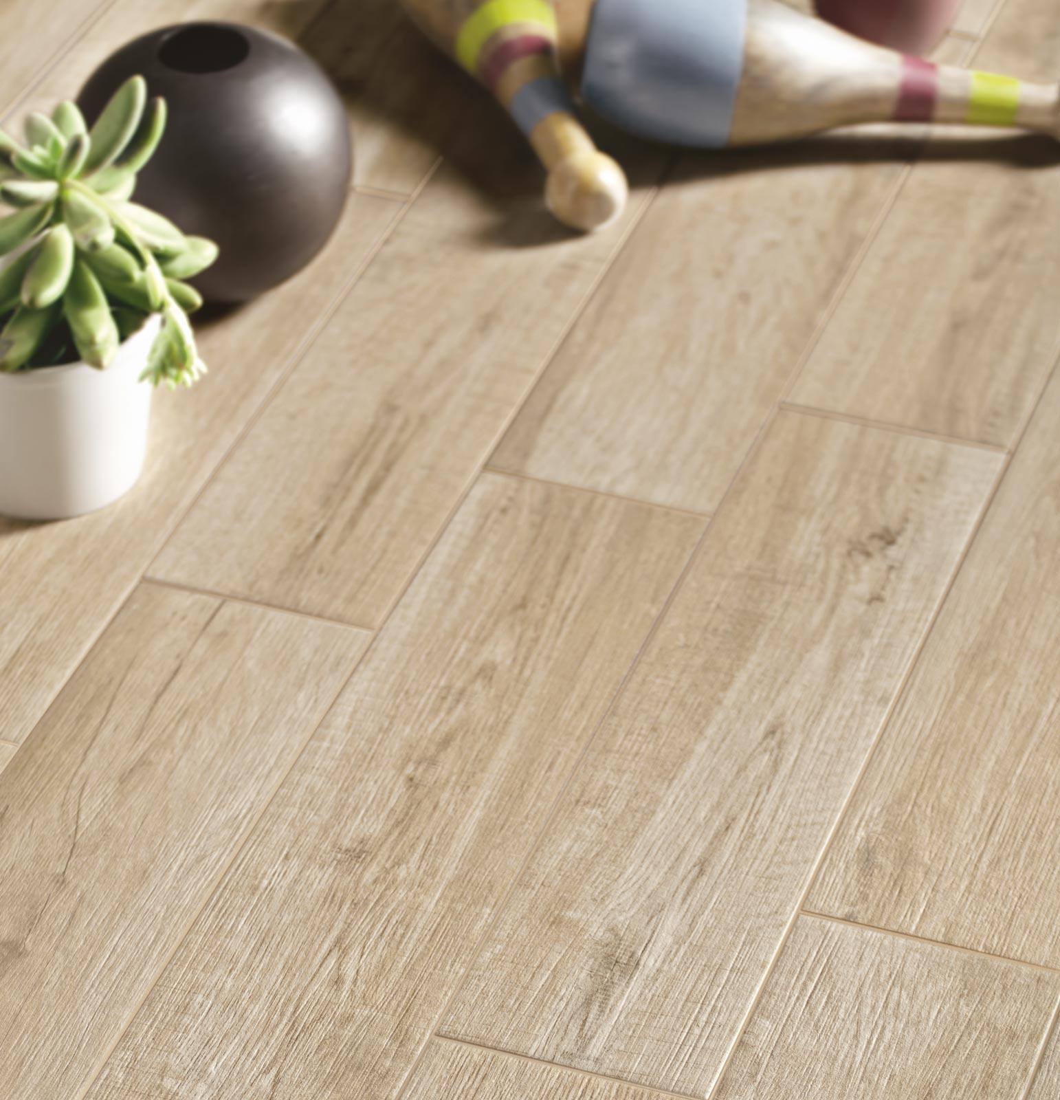 Pavimento Effetto Parquet Marazzi collezione freetime: gres effetto legno per tutta la casa