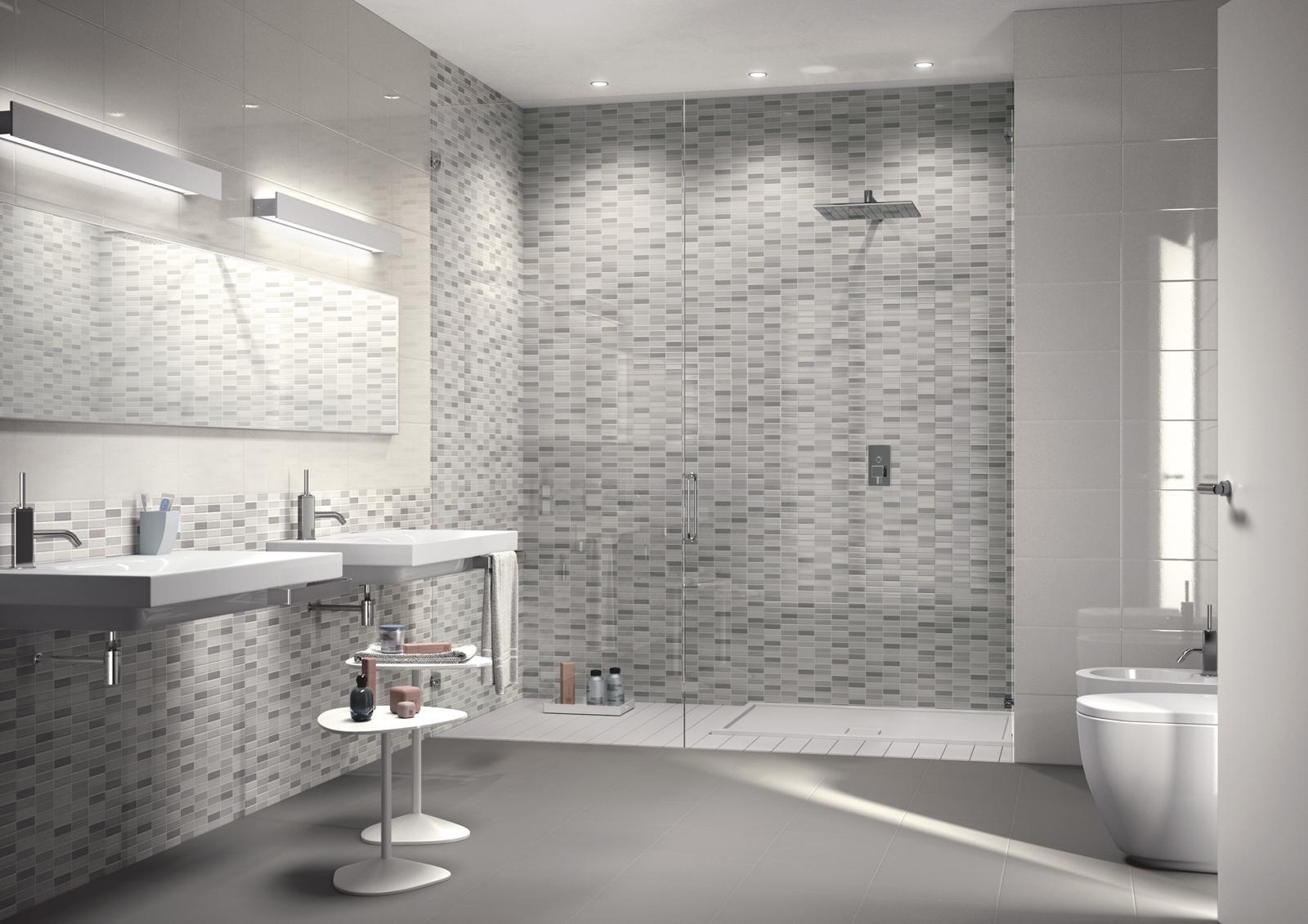 Collezione game mosaici di ceramica per bagno e cucina ragno