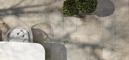 Piastrelle effetto pietra per interni ed esterni ragno for Ragno stoneway