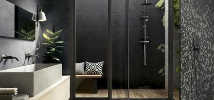 Piastrelle per bagno colore nero ragno - Colore piastrelle bagno ...