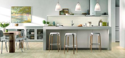 Gres Porcellanato Effetto Legno Parquet per Cucina | Ragno