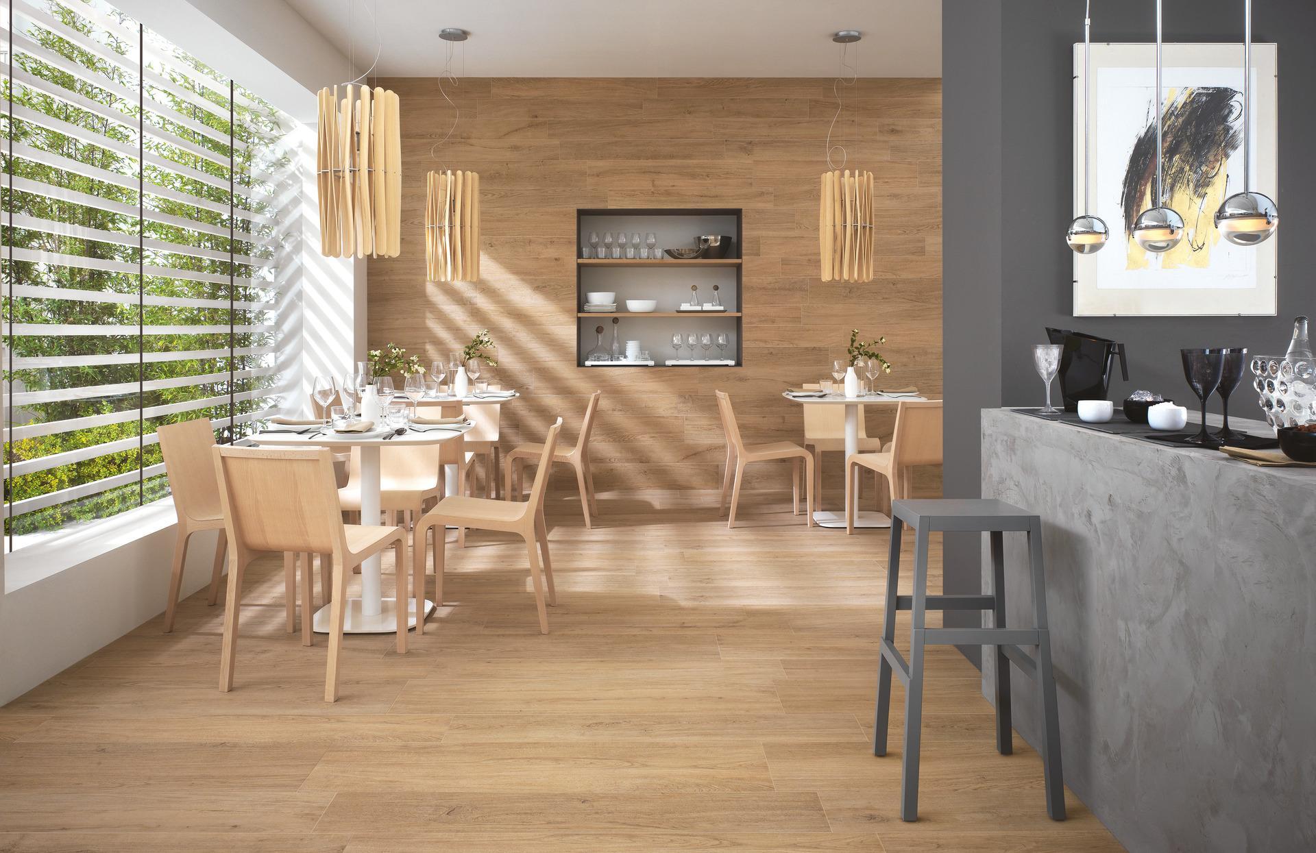 Pavimento Effetto Legno Rovere collezione woodliving: rivestimenti in gres effetto legno