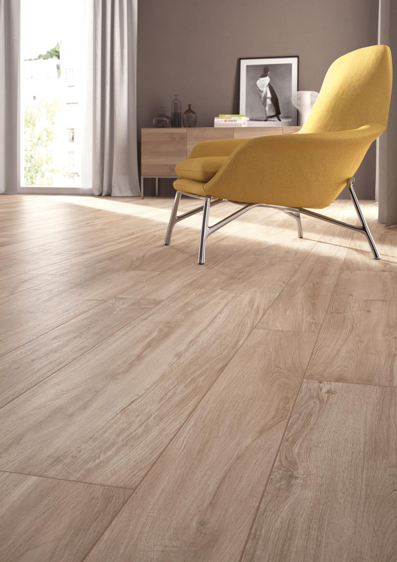 Pavimento Effetto Parquet Marazzi collezione woodliving: rivestimenti in gres effetto legno