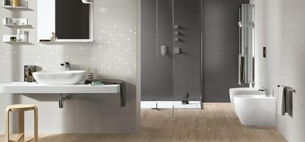 Gres porcellanato effetto legno parquet per bagno ragno for Piastrelle bagno parquet