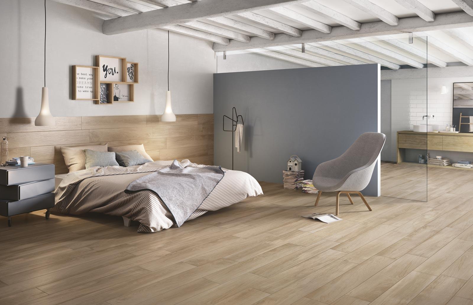 Immagini di pavimenti in ceramica per camere da letto