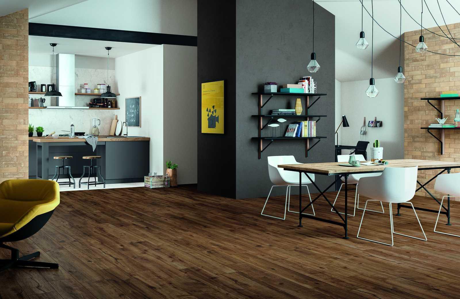 Collezione Woodtale: Pavimenti in Gres effetto legno | Ragno