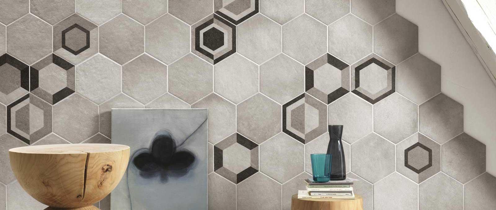 Piastrelle esagonali per decorare casa ragno - Piastrelle esagonali bagno ...