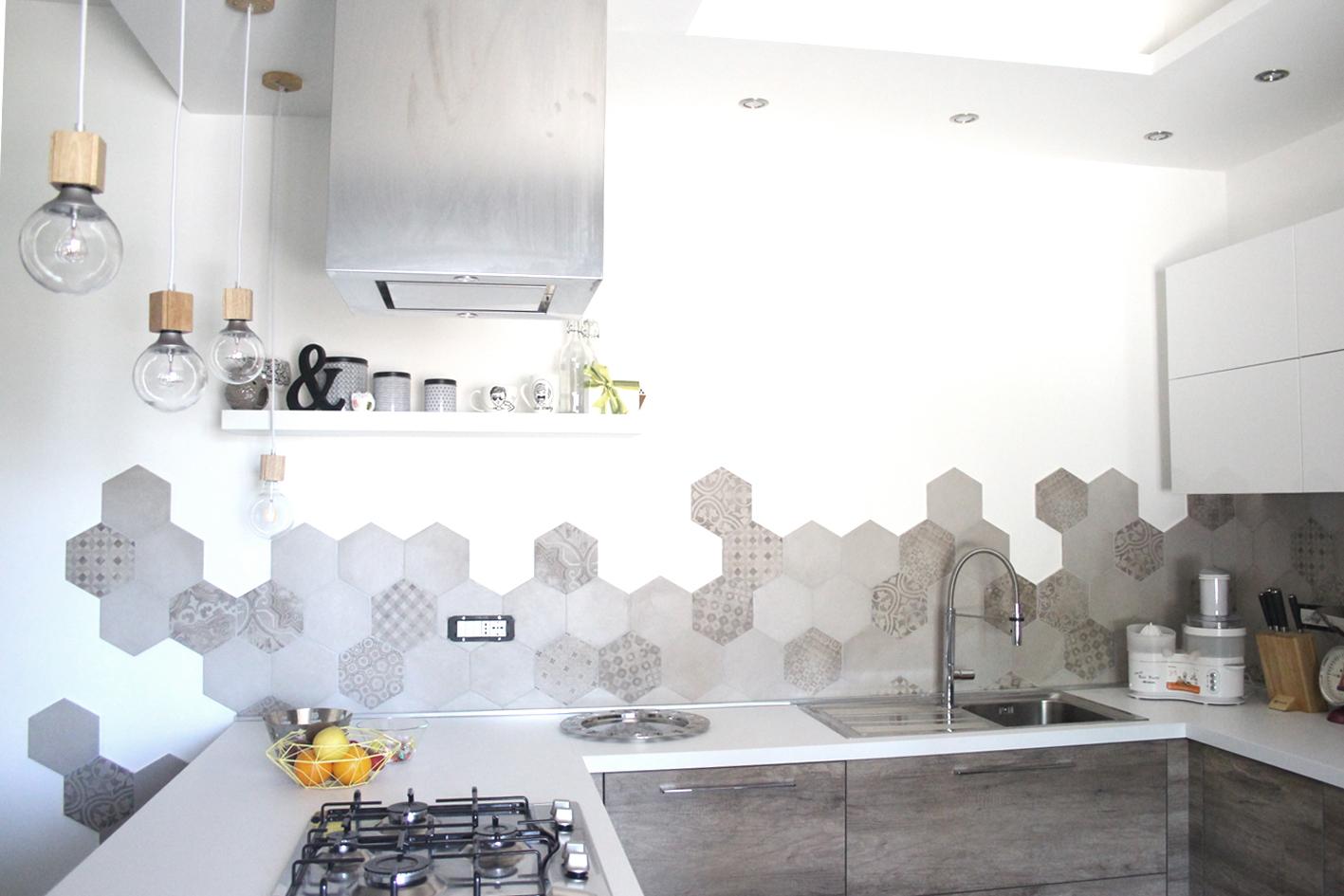 Cementine rewind protagoniste di una cucina a latina ragno