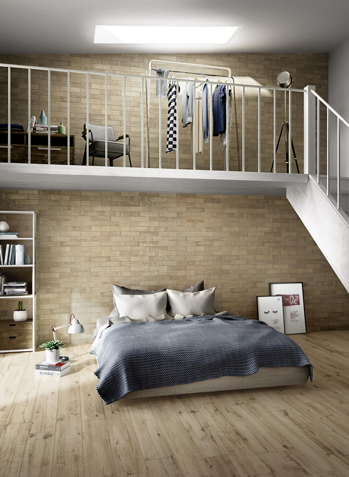 Come decorare la testata del letto ragno for Mensola sopra il letto