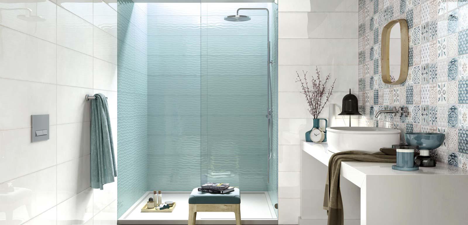 Rivestimento bagno moderno frame energy ragno for Bagni ragno