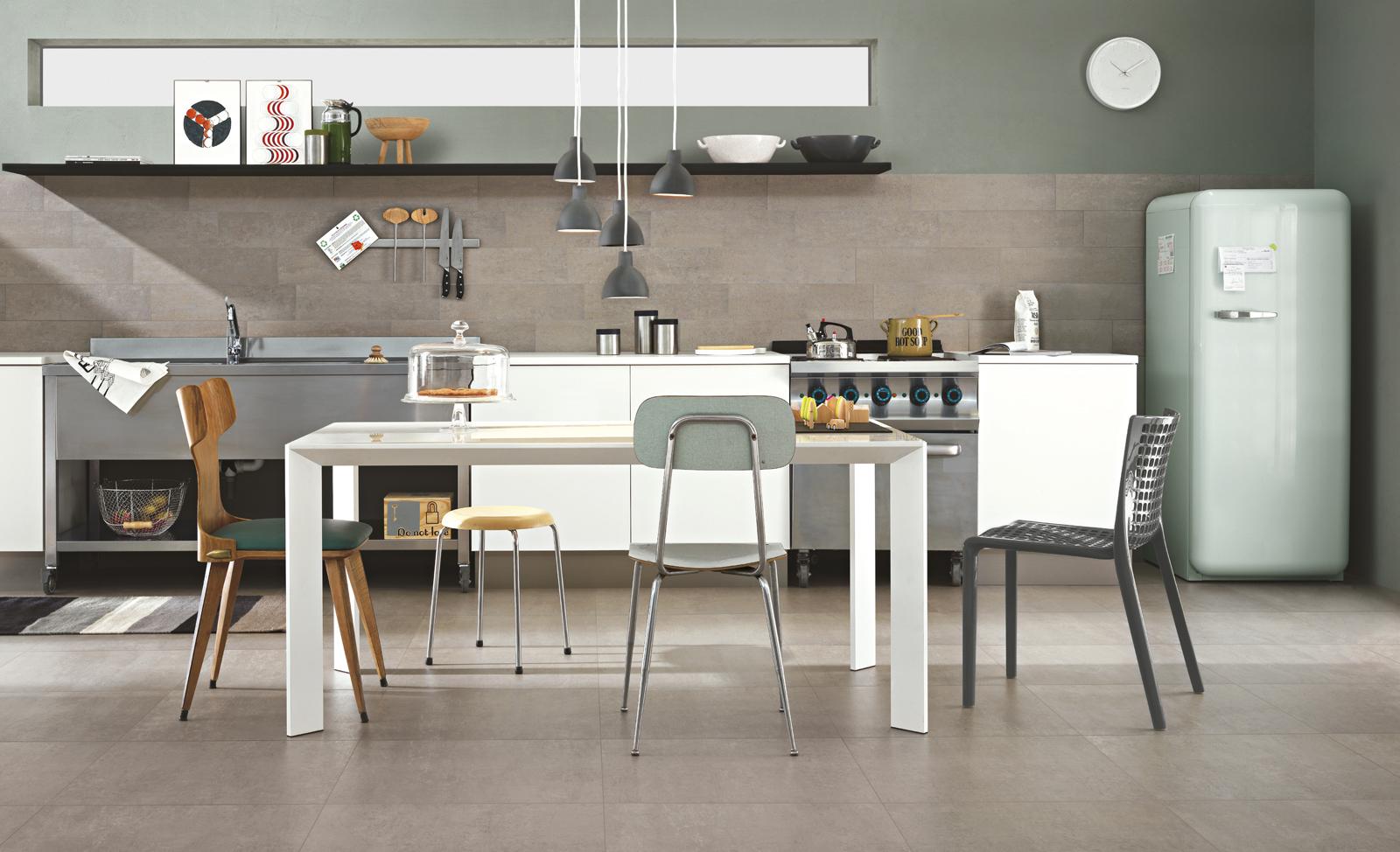 I nuovi pavimenti in grande formato ragno ragno - Piastrelle per pavimenti interni ...