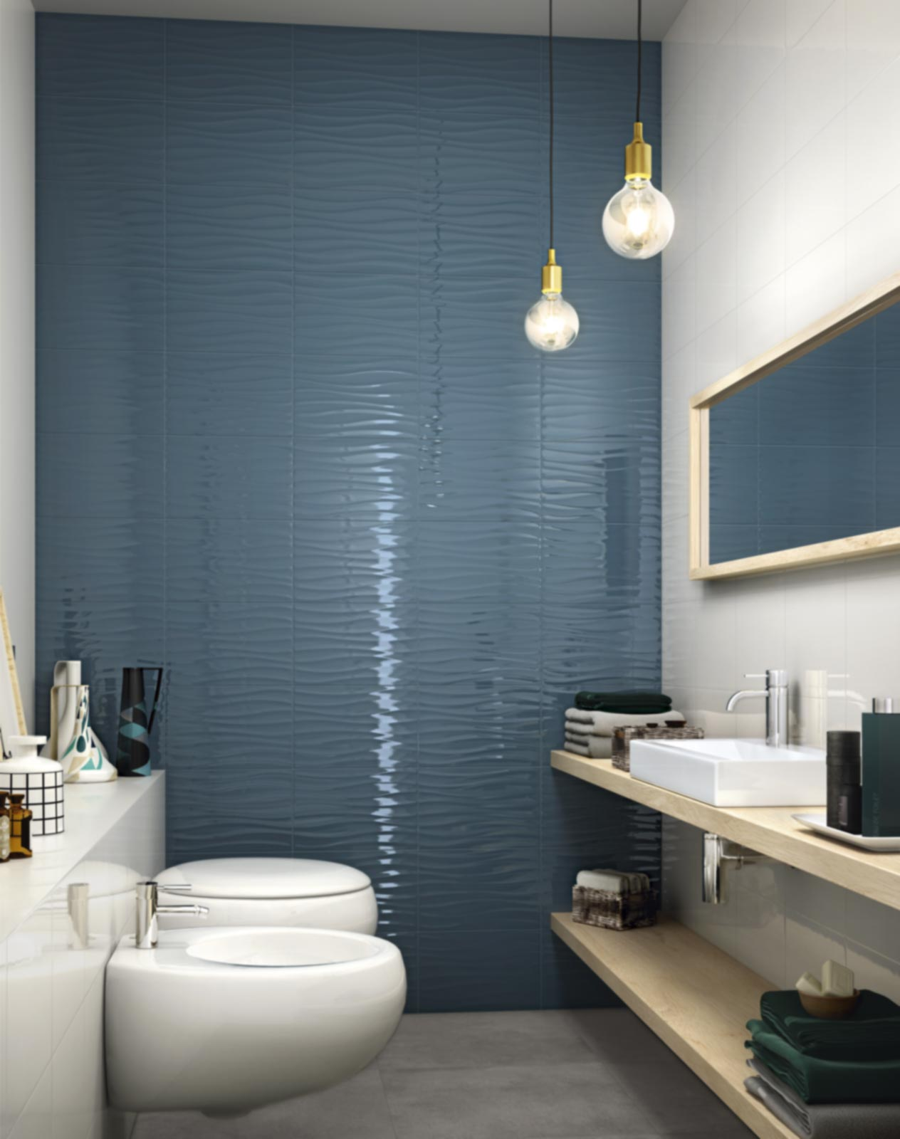 Rivestimento Bagno Con Maioliche rivestimento bagno moderno: frame & energy | ragno