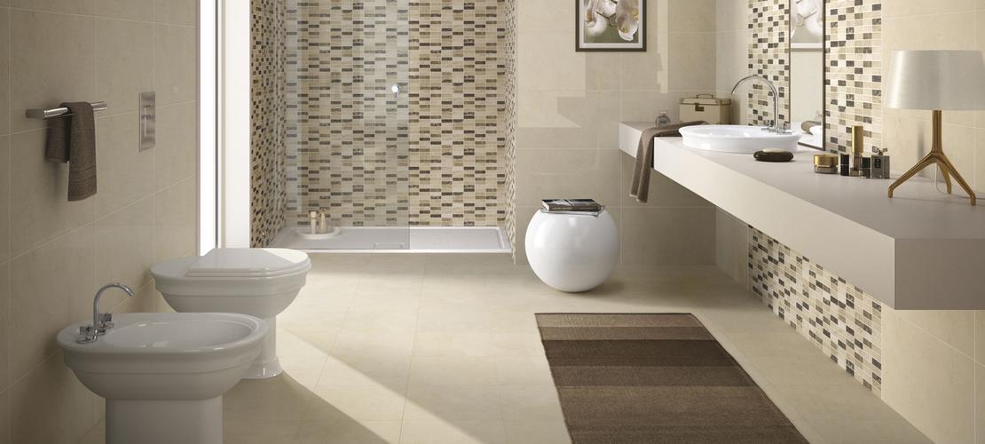Collezione game mosaici di ceramica per bagno e cucina ragno - Rivestimenti bagno classici ...