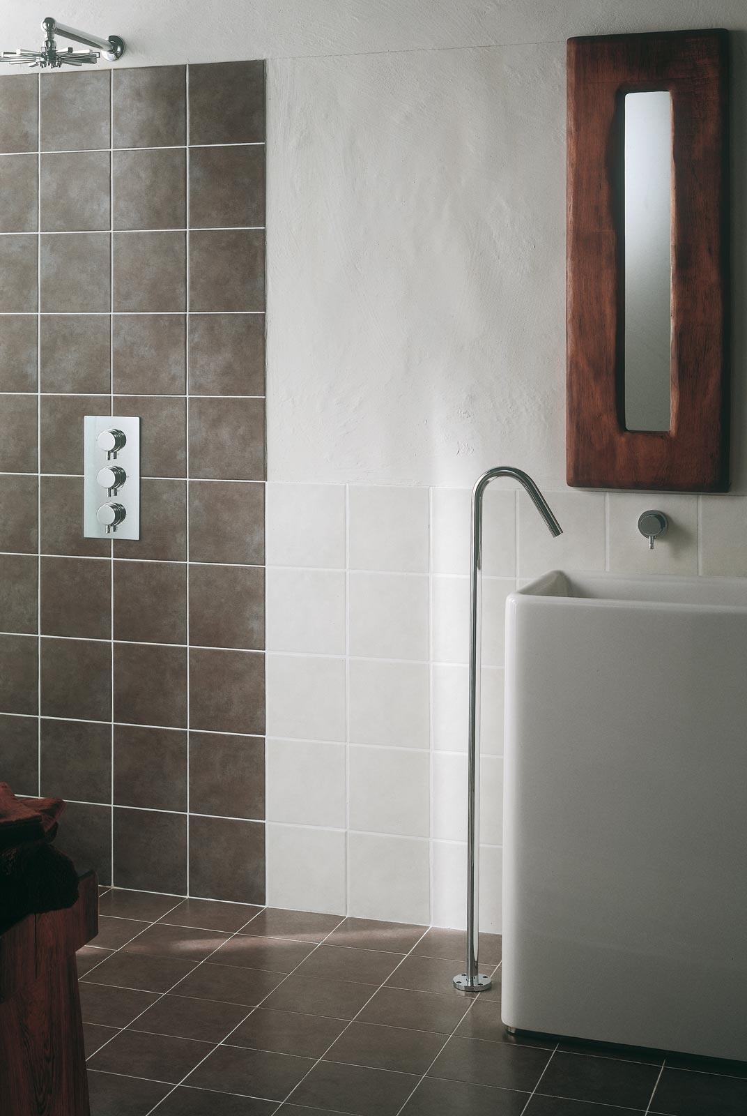 Minimal piastrelle in ceramica per ambienti bagno ragno - Piastrelle 20x20 bianche ...