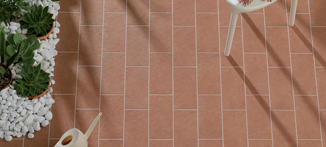 Plaza gres porcellanato per pavimenti esterni ragno - Piastrelle klinker per esterni ...