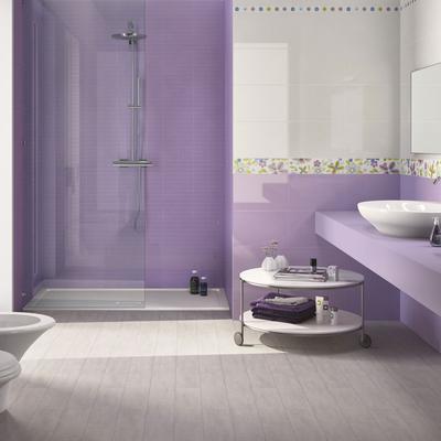 Collezione starlight piastrelle ceramica color pastello - Piastrelle colorate per bagno ...