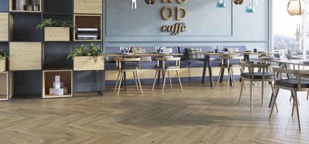 Collezione woodcraft gres effetto legno ragno for Leroy merlin pavimenti gres effetto legno