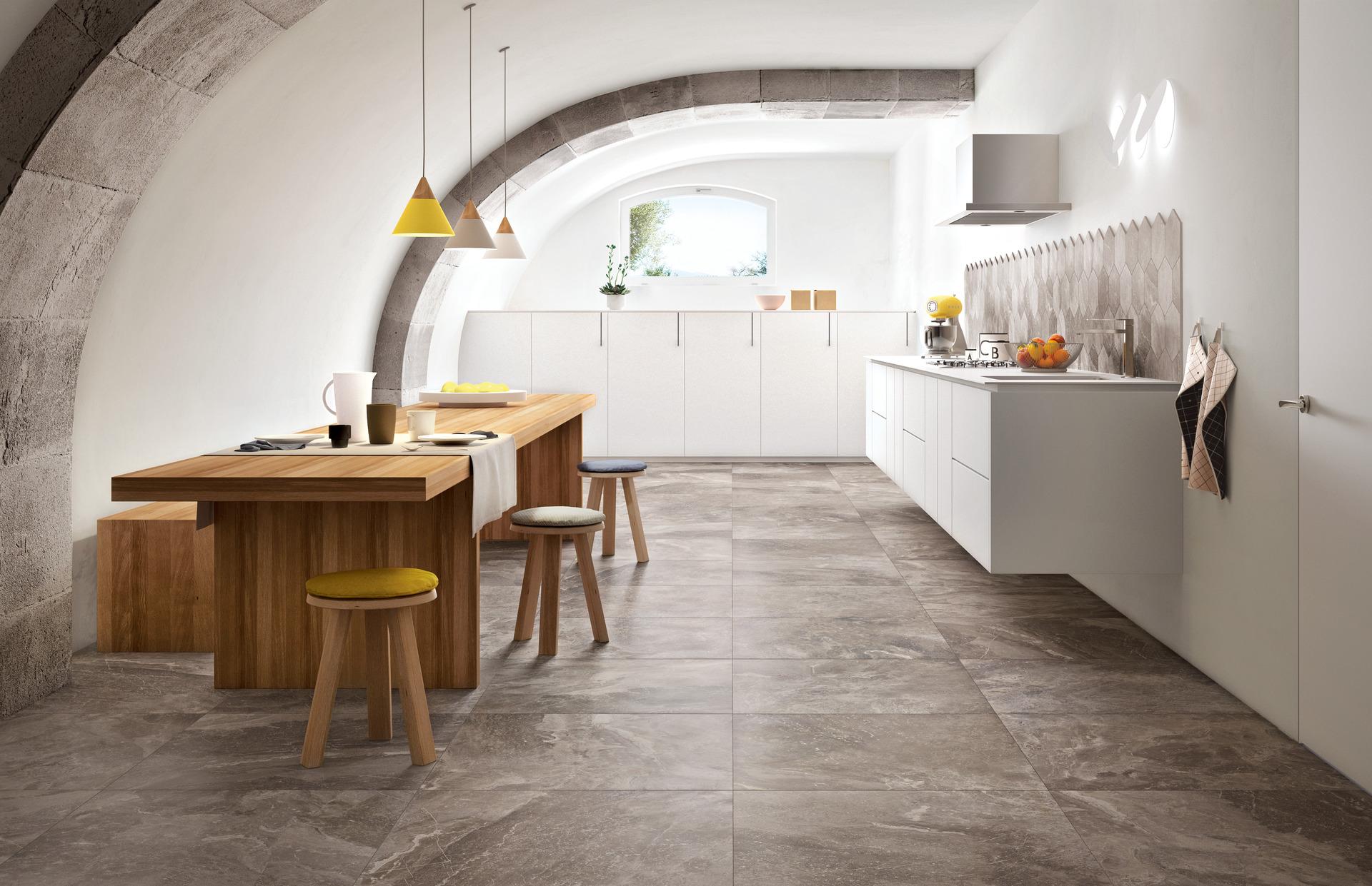 piastrelle cucina versatilit ed eleganza ragno. Black Bedroom Furniture Sets. Home Design Ideas