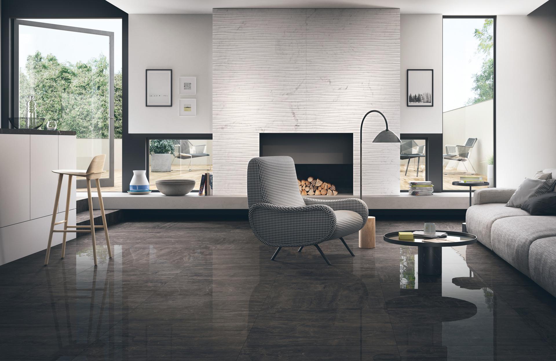 collezione bistrot gres fine effetto pietra e marmo ragno. Black Bedroom Furniture Sets. Home Design Ideas