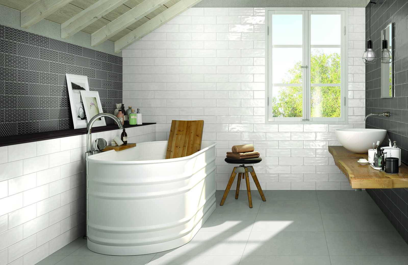 Collezione brick glossy rivestimenti per cucina e bagno - Piastrelle di ceramica ...
