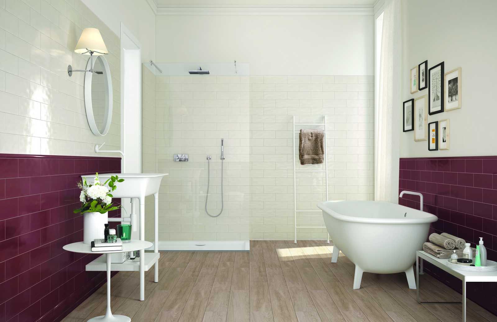 Collezione brick glossy rivestimenti per cucina e bagno ragno - Rivestimenti bagno ragno ...