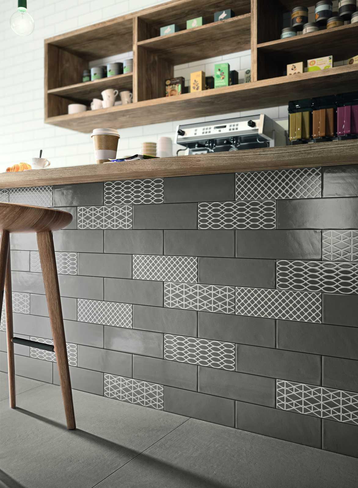 Piastrelle Cucina Effetto Mosaico : Rivestimento cucina effetto ...