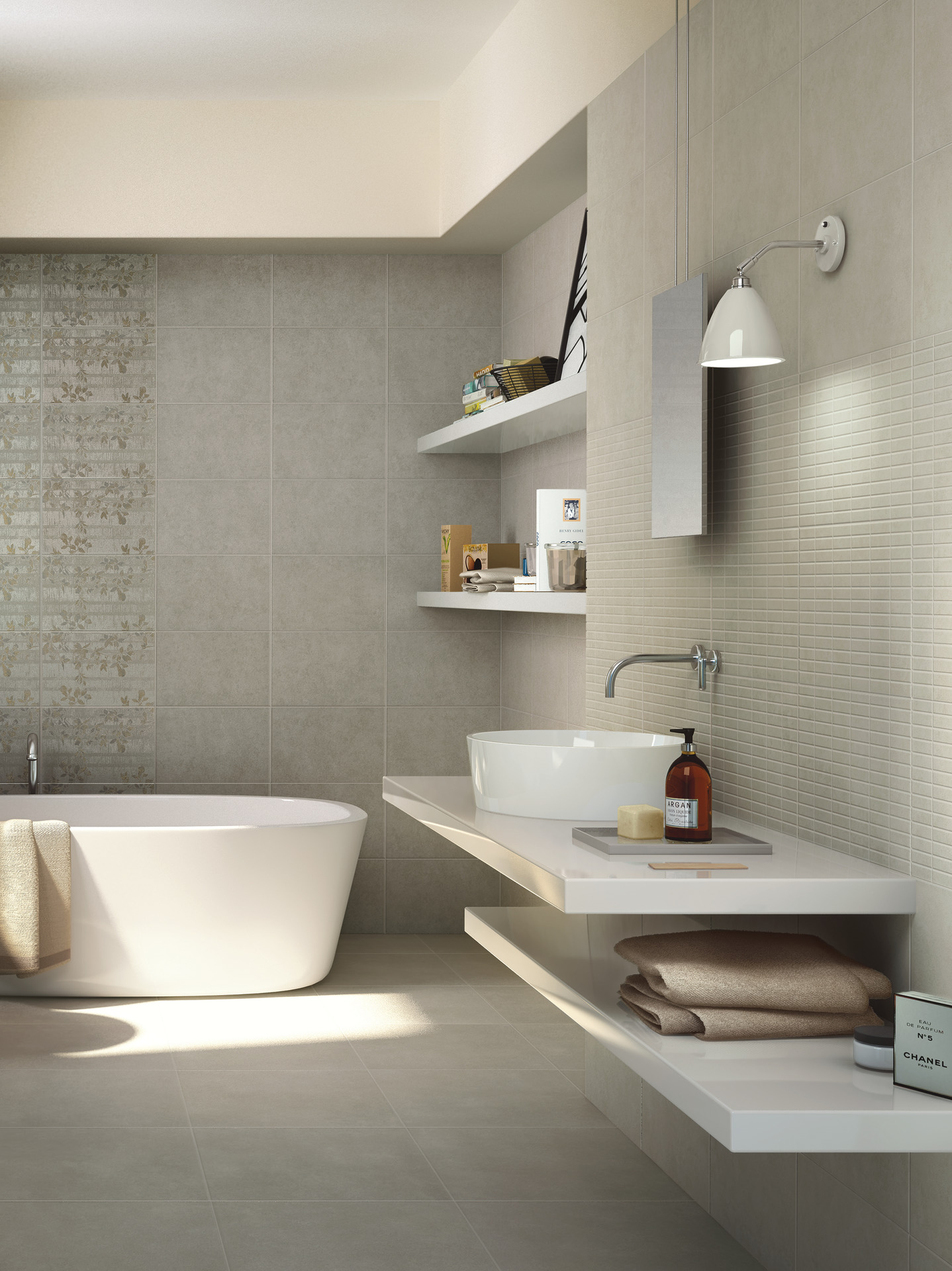 Collezione casablanca ceramica per bagno e cucina ragno - Piastrelle ceramica bagno ...