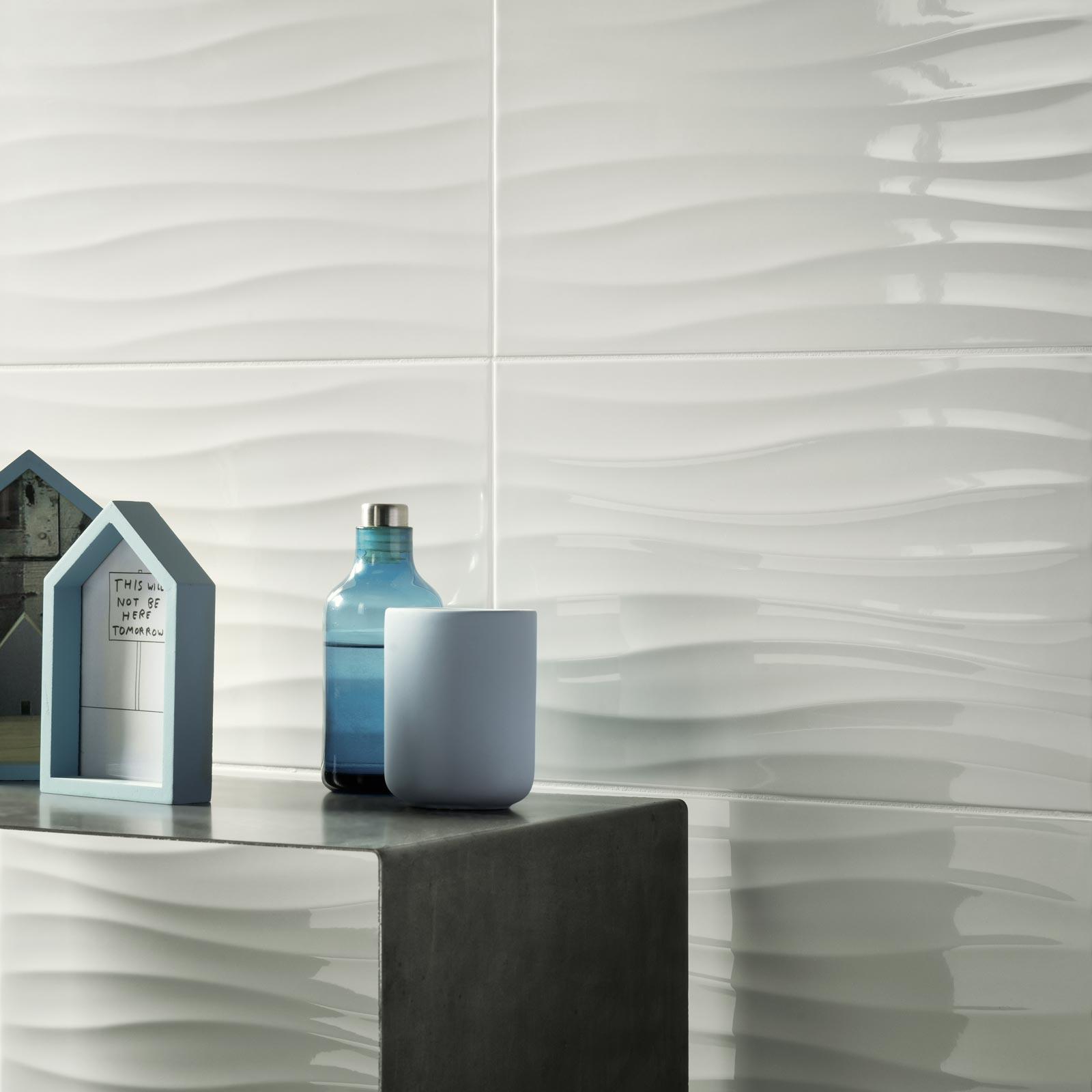 Rivestimenti Bagno Nero : Collezione energy rivestimento in ceramica lucido ragno