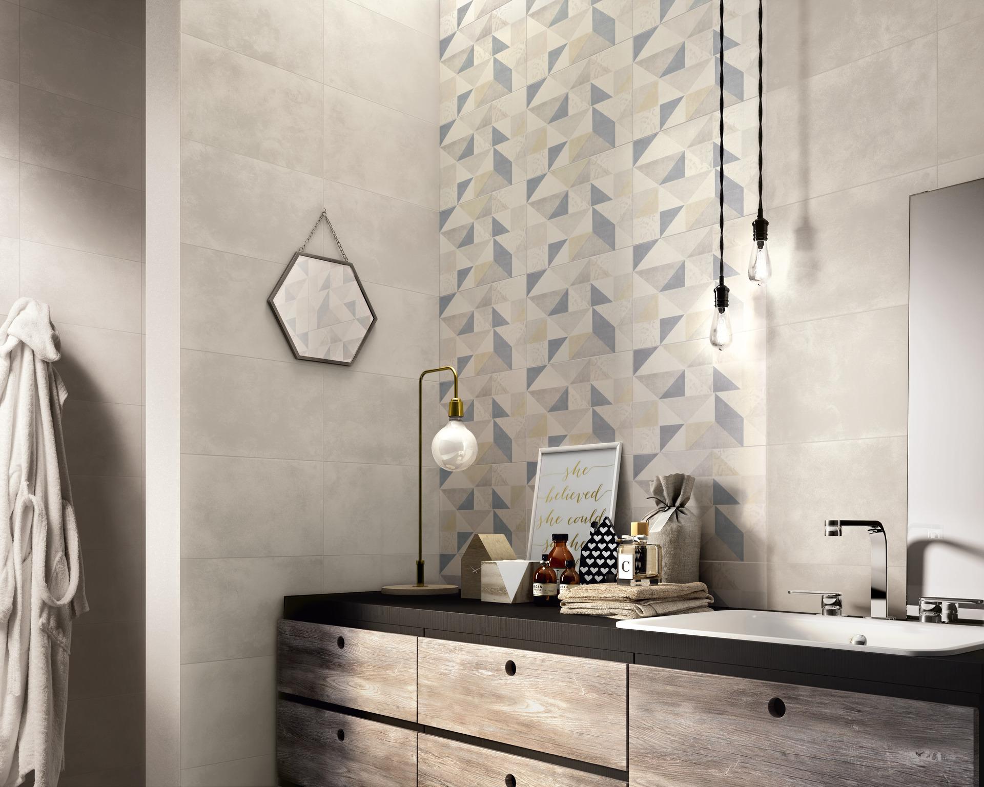 Collezione feel rivestimento opaco per bagno ragno - Piastrelle per pareti interne ...