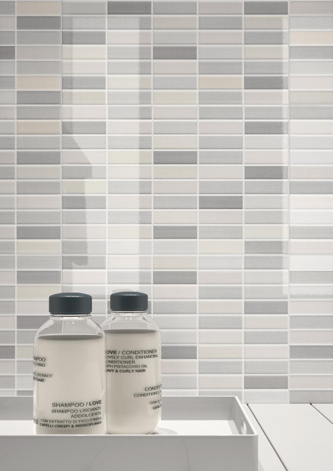 Collezione game mosaici di ceramica per bagno e cucina for Piastrelle cucina design