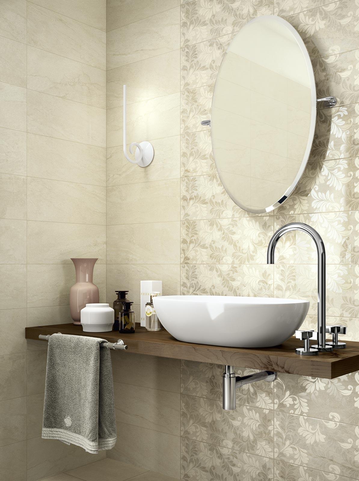 Collezione Grace: Piastrelle in ceramica per il tuo bagno | Ragno