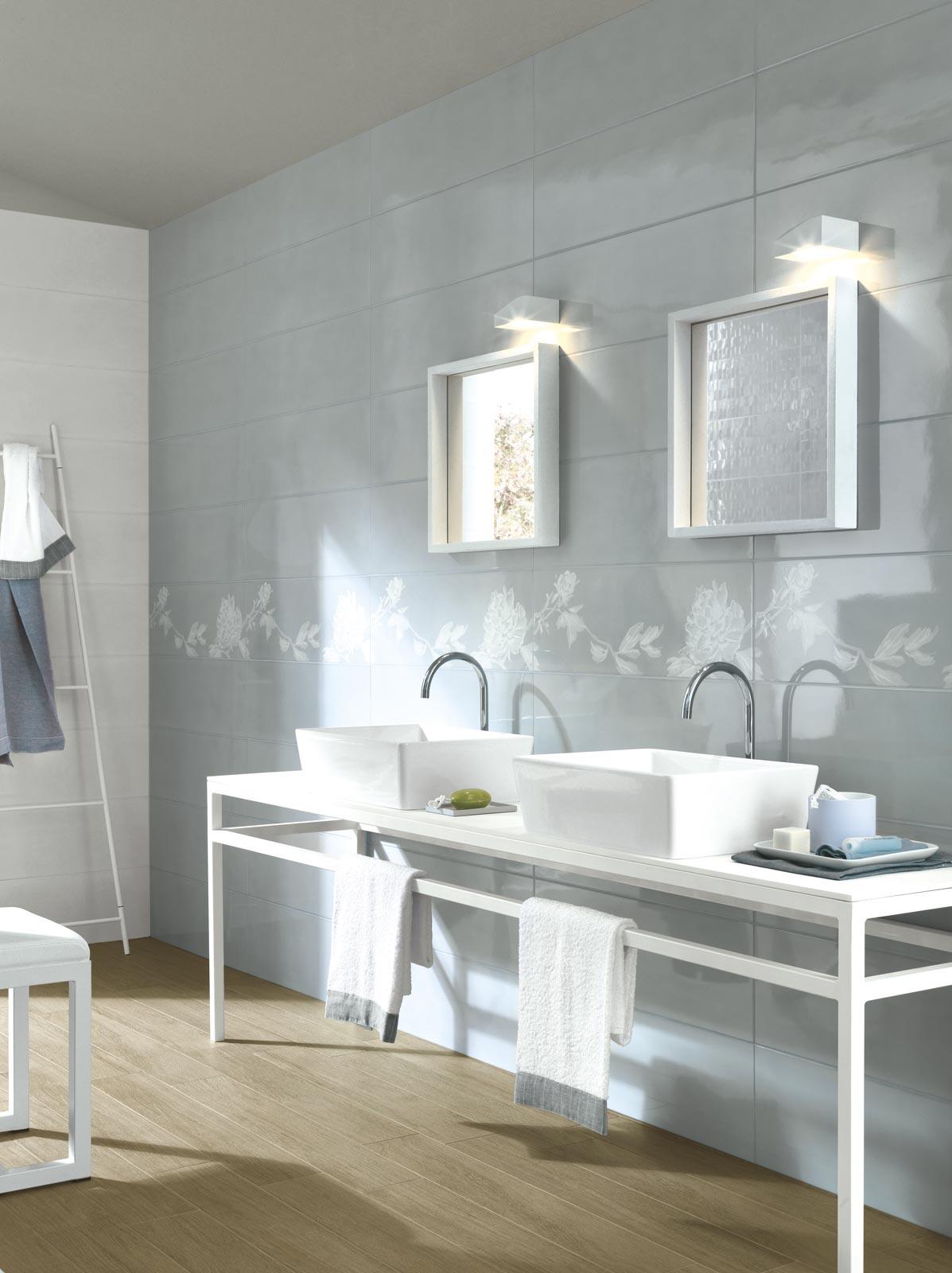Collezione handmade rivestimenti bagno effetto lucido ragno for Mattonelle design