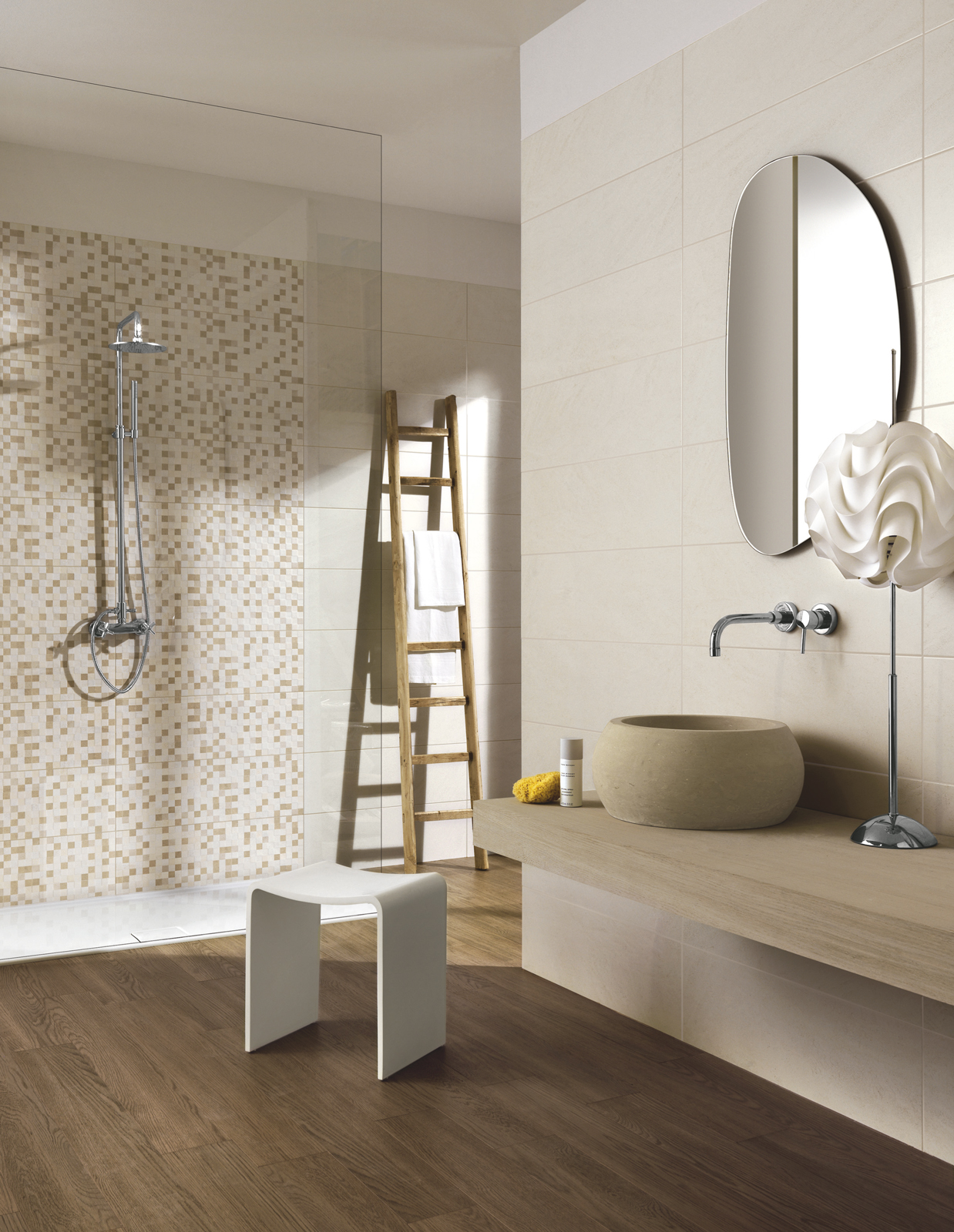 Collezione natural rivestimenti per il tuo bagno ragno - Piastrelle bagno legno ...
