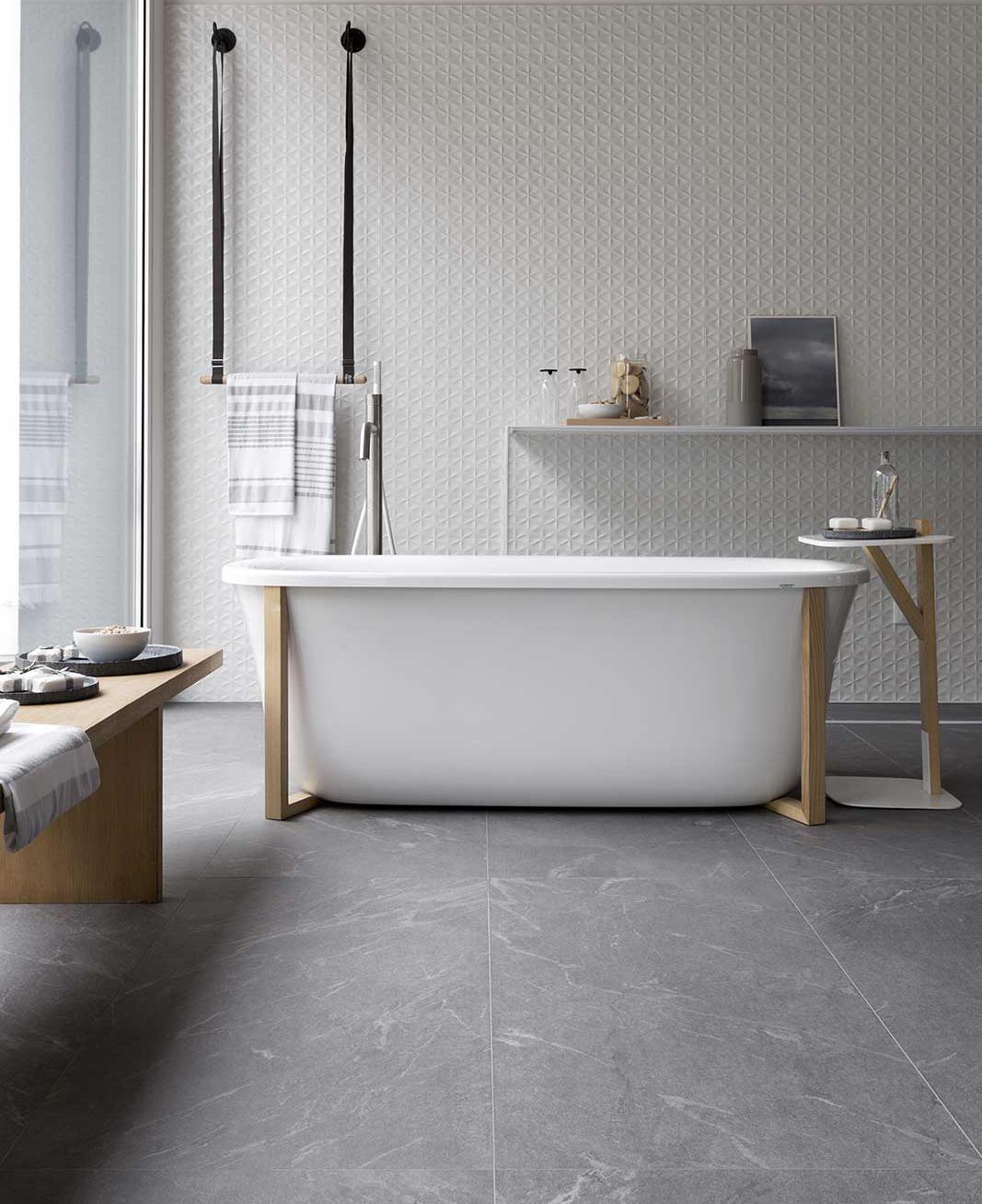 Piastrelle bagno in gres porcellanato ragno - Stuccare piastrelle bagno ...
