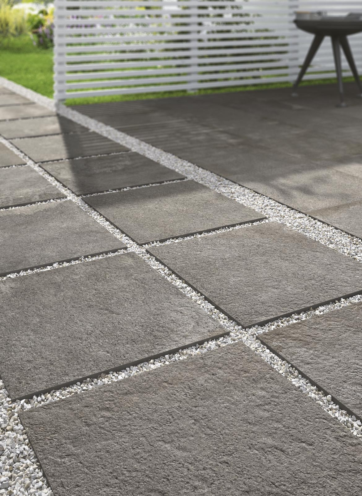 Collezione stoneway porfido xt20 gres porcellanato 20mm ragno - Pavimento da esterno carrabile ...