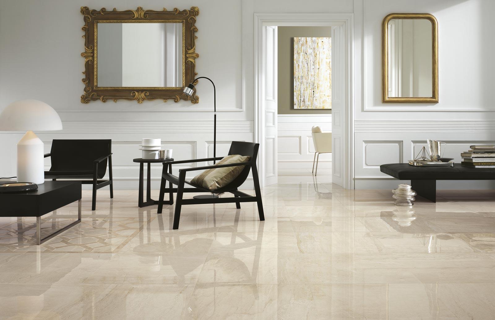 Collezione symphony rivestimenti gres effetto marmo ragno for Piastrelle per salone