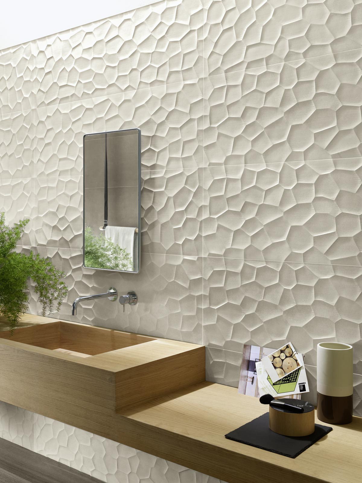 Collezione terracruda rivestimento effetto cemento ragno - Immagini piastrelle bagno ...