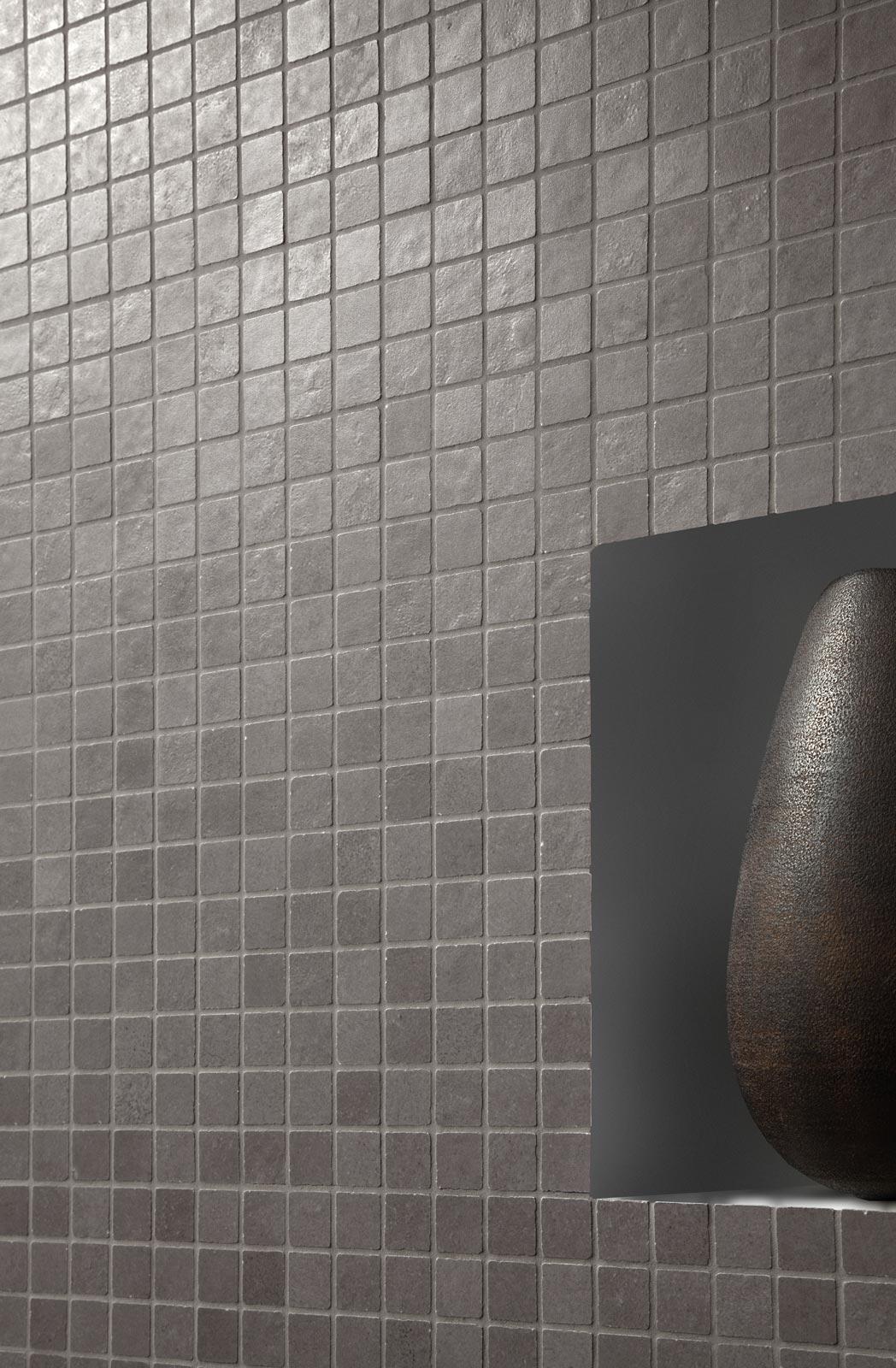Collezione terracruda rivestimento effetto cemento ragno - Rimuovere cemento da piastrelle ...