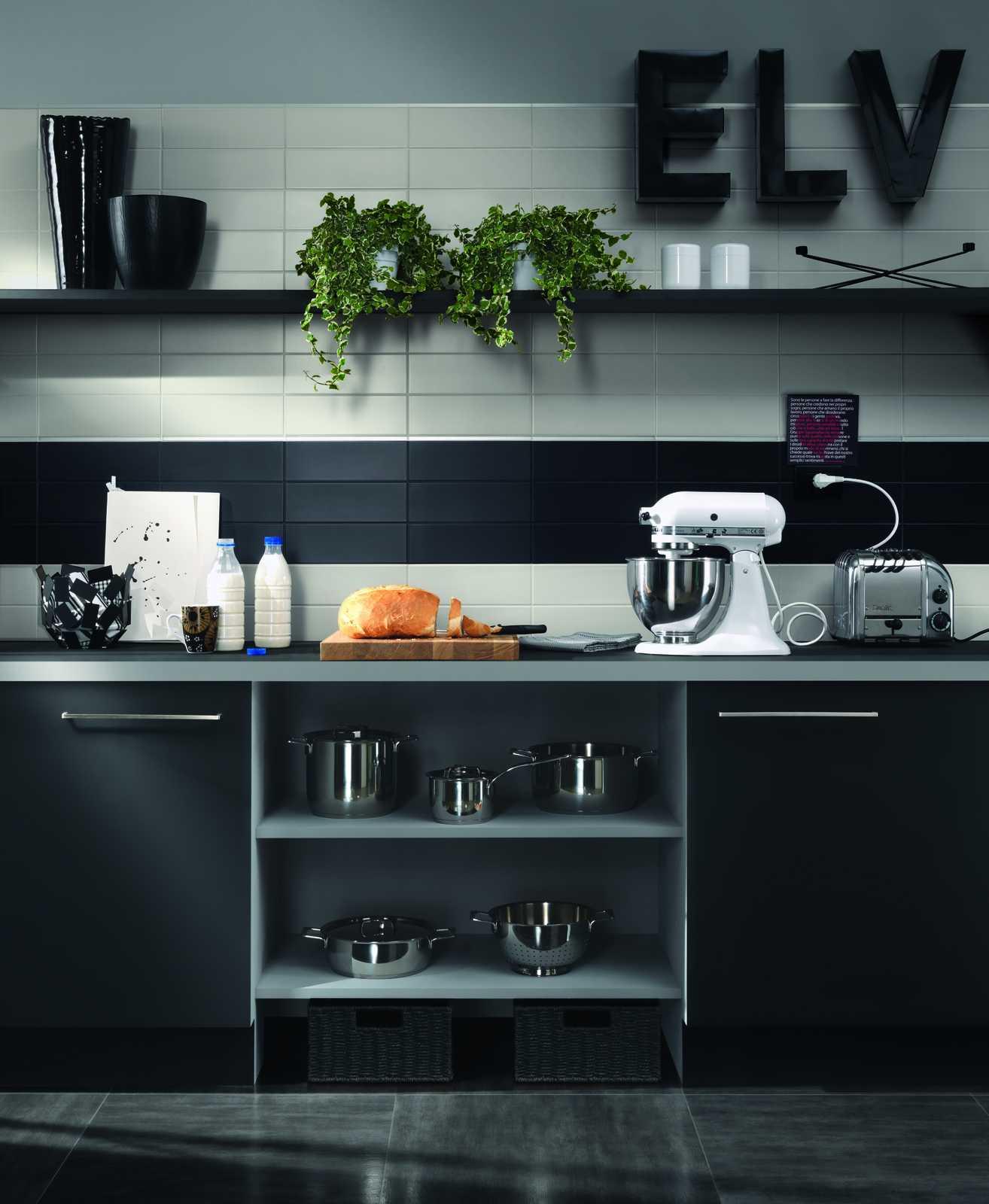 Collezione unitech rivestimenti dal colore accattivante for Piastrelle cucina