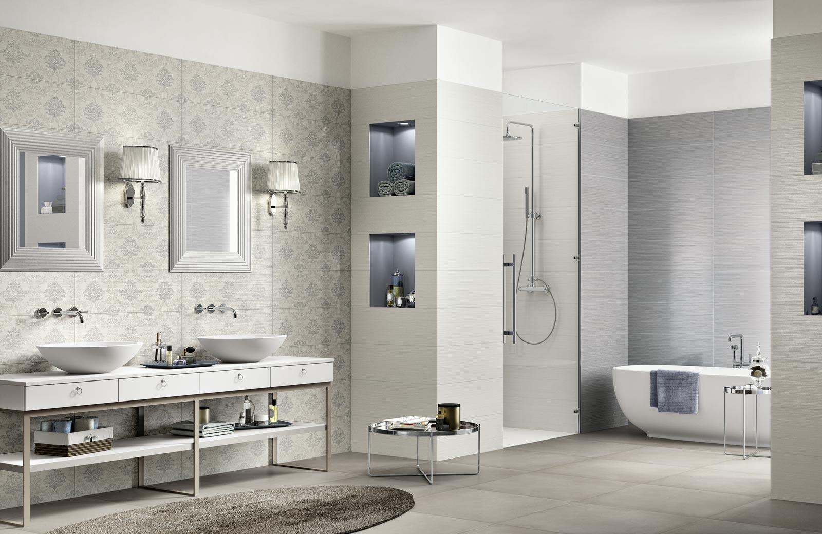 Collezione wallpaper rivestimenti classici per il bagno - Piastrelle ragno catalogo ...