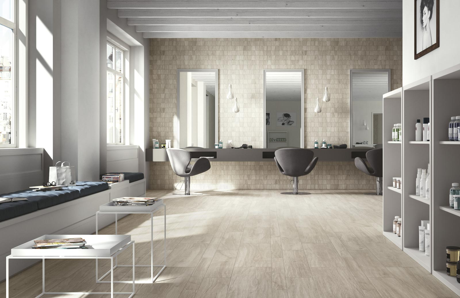 Collezione woodliving rivestimenti in gres effetto legno ragno - Rivestimenti bagno ragno ...