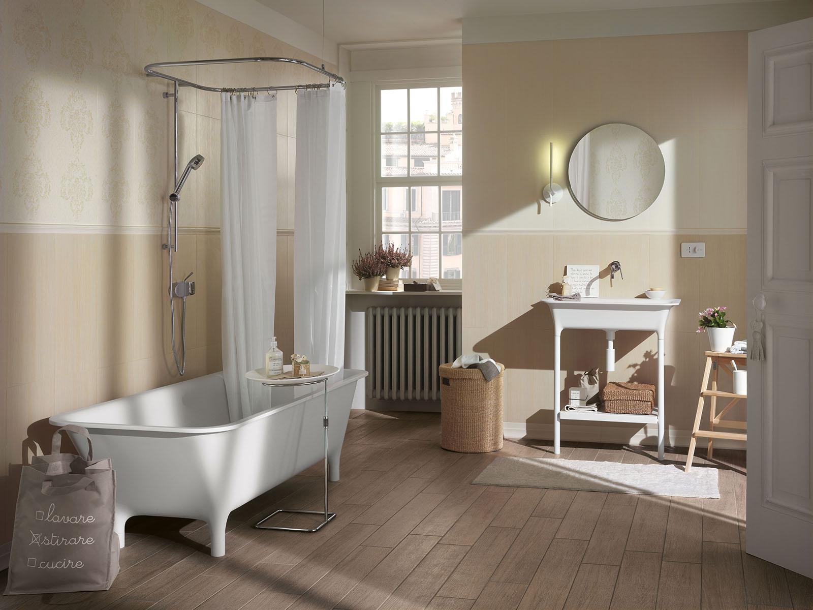 romantique rivestimenti bagni retr ragno. Black Bedroom Furniture Sets. Home Design Ideas
