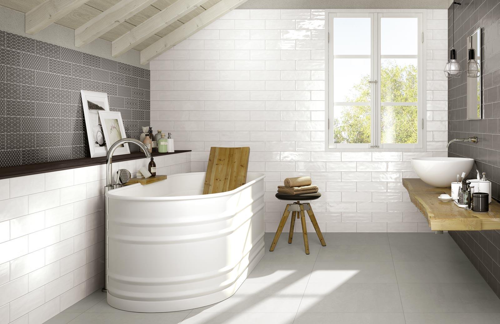 Collezione brick glossy rivestimenti per cucina e bagno - Piastrelle per rivestimenti ...