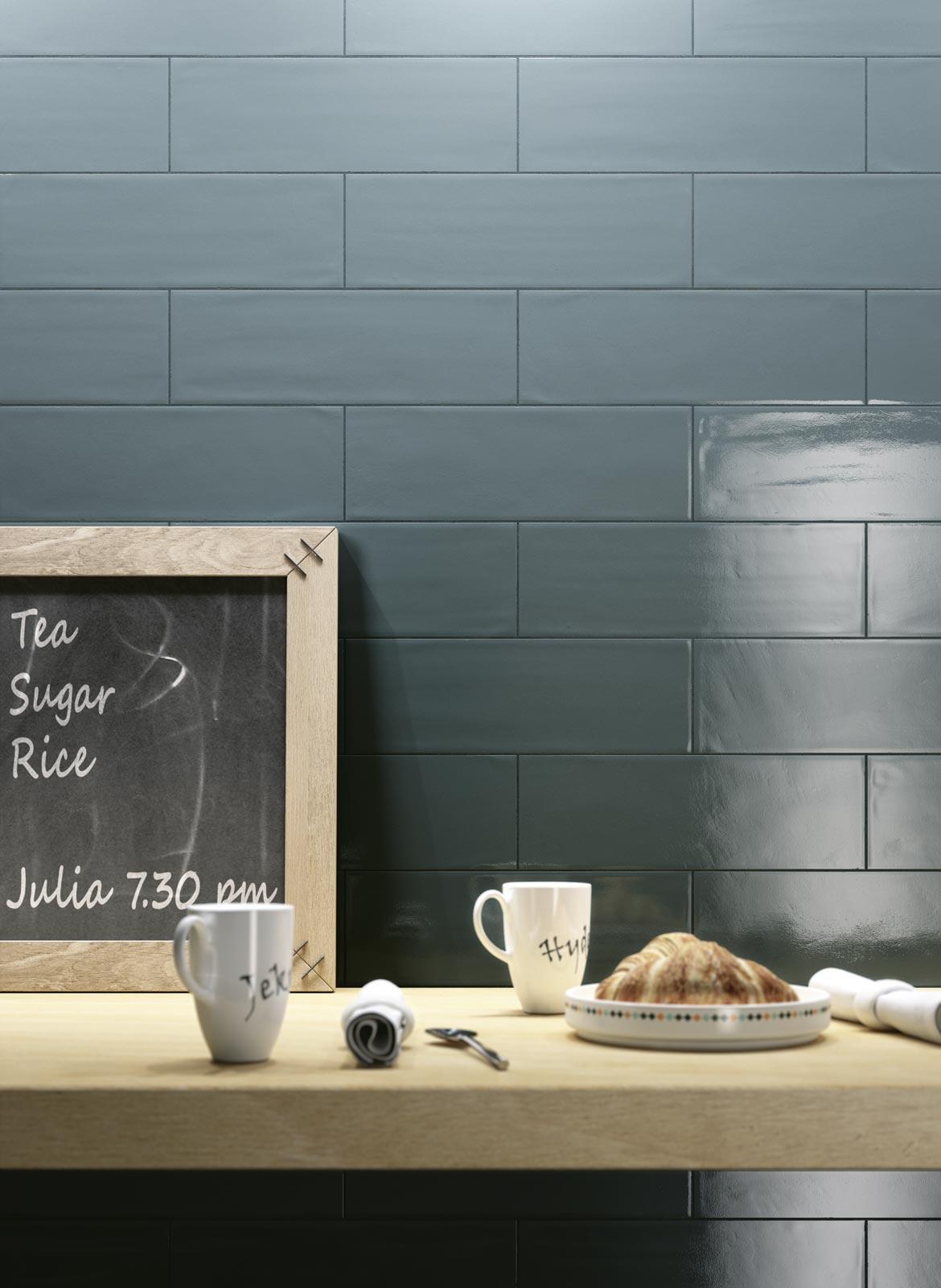 Posa Piastrelle Cucina Youtube: Collezione brick glossy ...